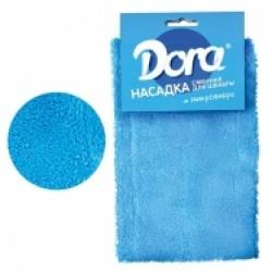 Насадка сменная для швабры DORA из микрофибры