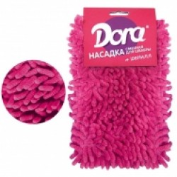 Насадка сменная для швабры DORA из микрофибры шенилл
