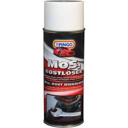 Смазка MOS 2 с дисульфидом молибдена аэрозоль 400 мл PINGO