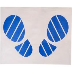 """Защитные двухслойные """"коврики"""" с рисунком, размер 40,5 х 50 см """"СЛЕДЫ НОГ"""" коробка 500 шт PINGO"""