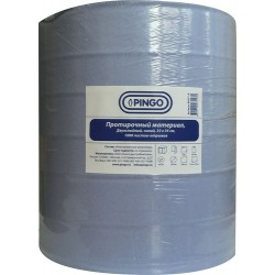 Протирочный материал PINGO, 2-сл рулон, синий 33 х 35 см рулон 1000 отрывов PINGO